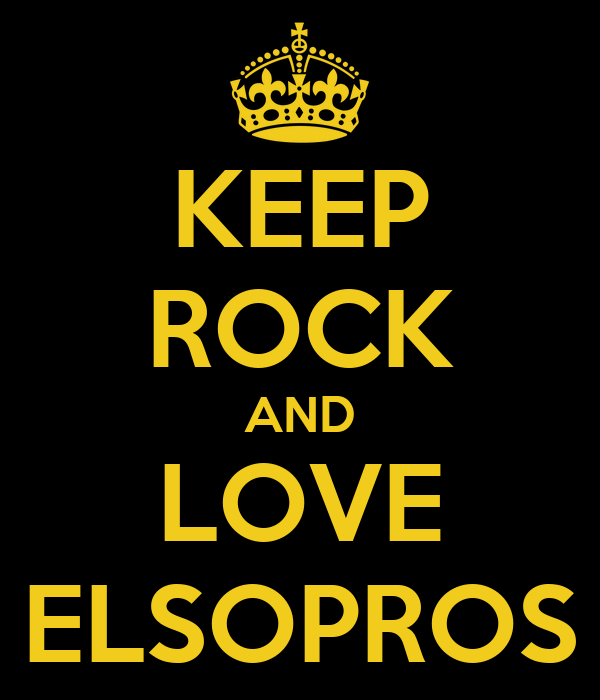 KEEP ROCK AND LOVE ELSOPROS