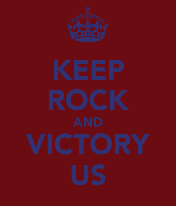 KEEP ROCK AND VICTORY US