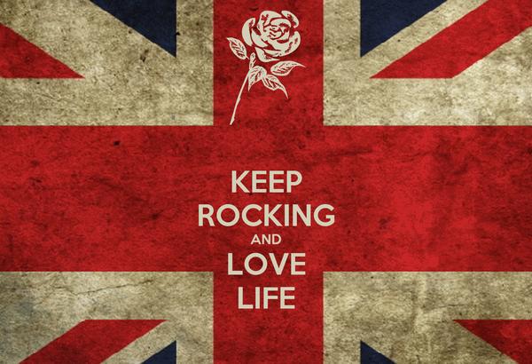 KEEP ROCKING AND LOVE LIFE