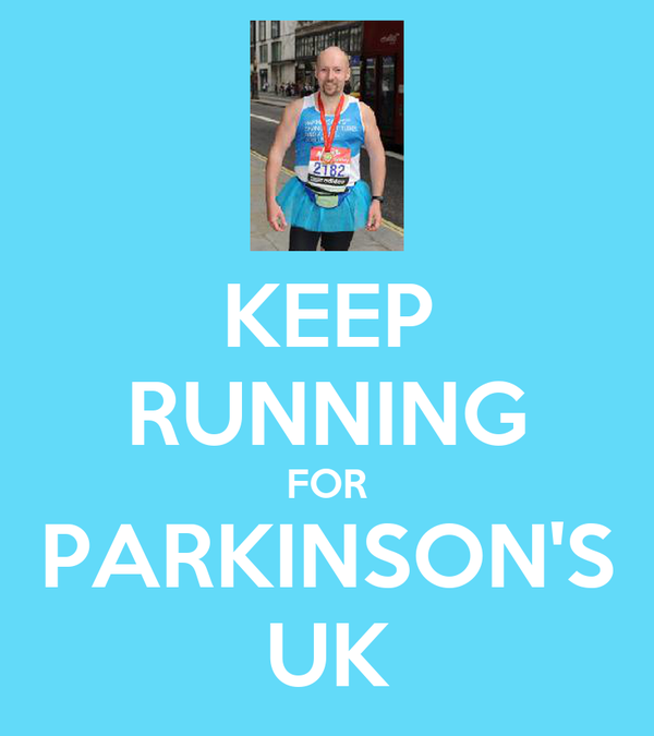 KEEP RUNNING FOR PARKINSON'S UK