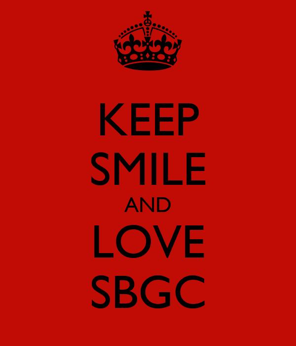KEEP SMILE AND LOVE SBGC