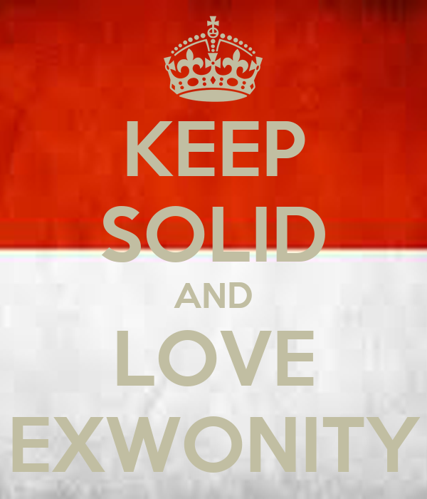 KEEP SOLID AND LOVE EXWONITY
