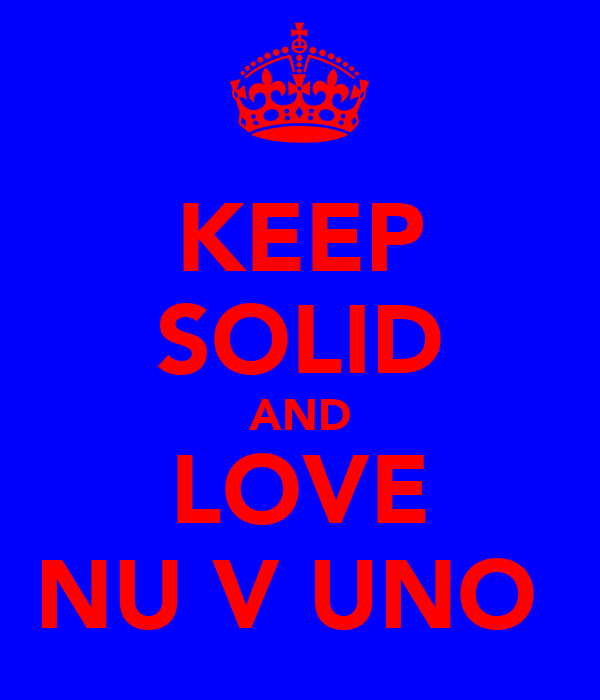 KEEP SOLID AND LOVE NUΣVΣUNO