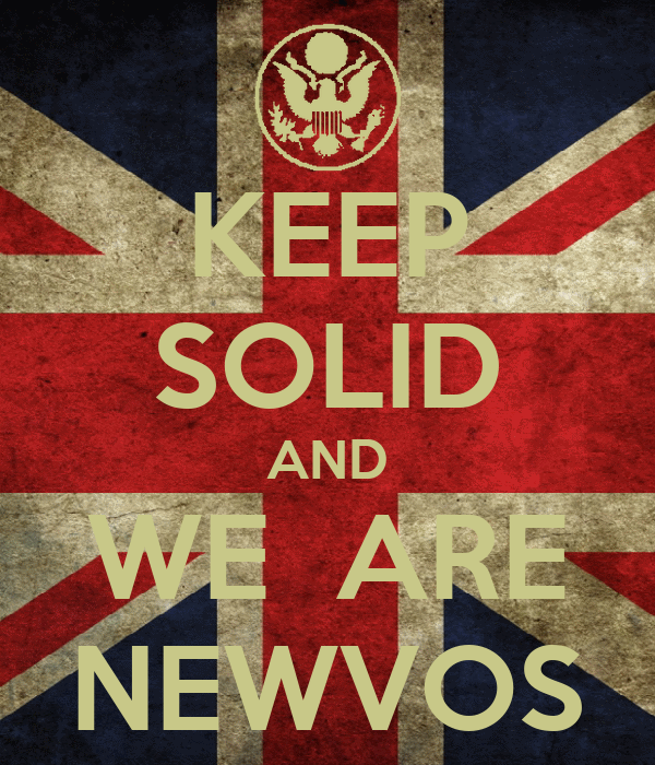 KEEP SOLID AND WE  ARE NEWVOS
