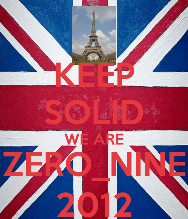 KEEP SOLID WE ARE ZERO_NINE 2012