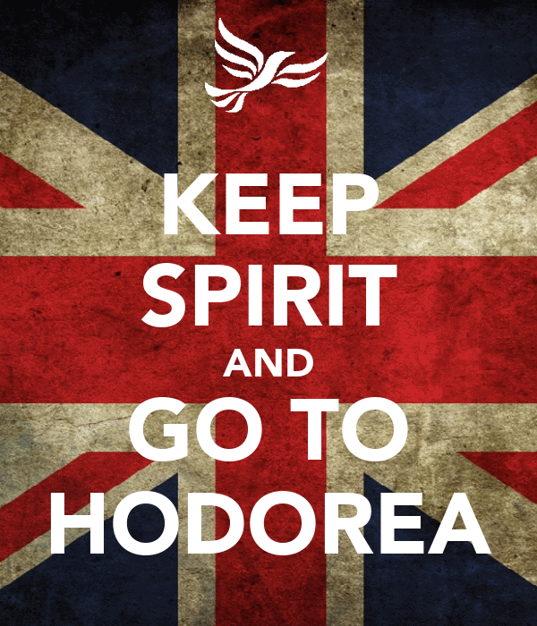 KEEP SPIRIT AND GO TO HODOREA