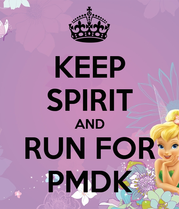 KEEP SPIRIT AND RUN FOR PMDK