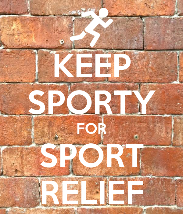 KEEP SPORTY FOR SPORT RELIEF