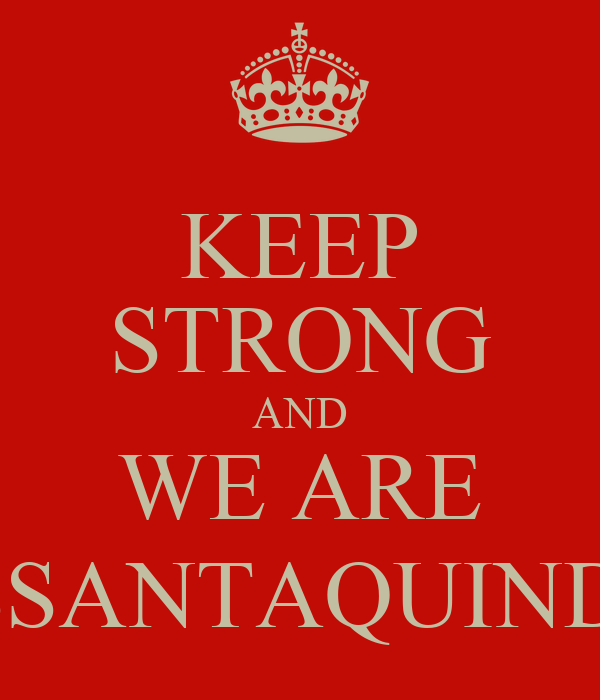 KEEP STRONG AND WE ARE SESSANTAQUINDICI
