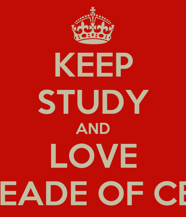 KEEP STUDY AND LOVE RING LEADE OF CERTAIN