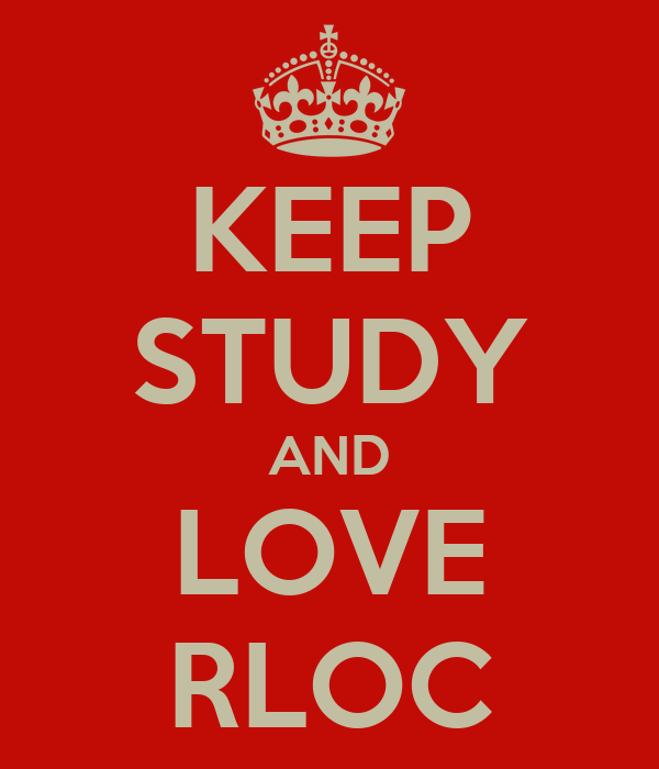 KEEP STUDY AND LOVE RLOC