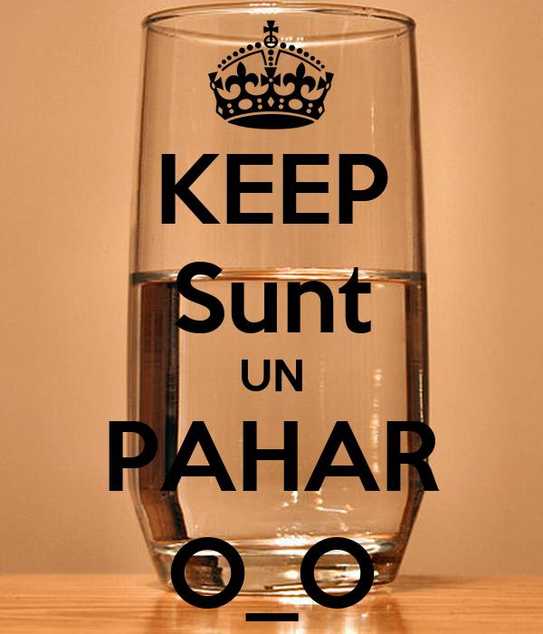 KEEP Sunt UN PAHAR O_O