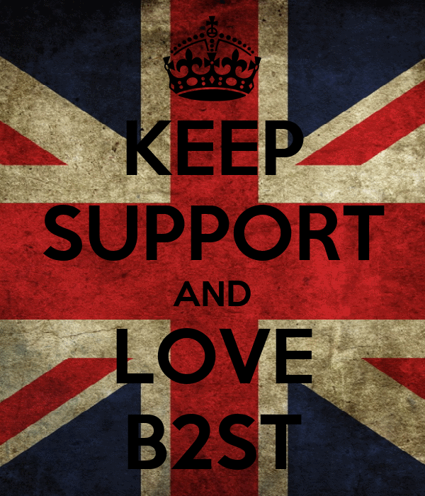 KEEP SUPPORT AND LOVE B2ST