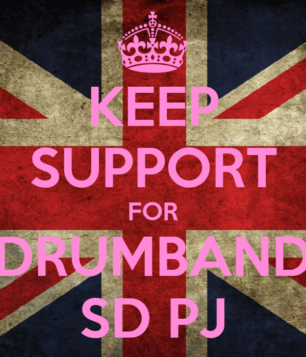 KEEP SUPPORT FOR DRUMBAND SD PJ
