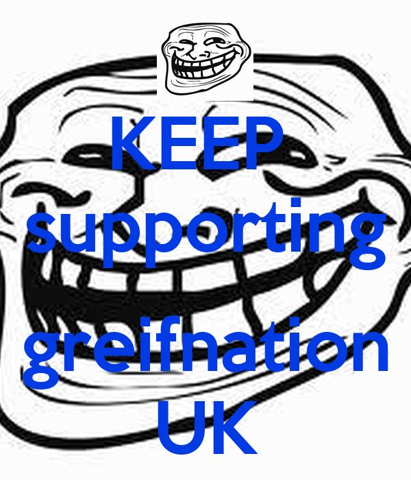 KEEP  supporting  greifnation UK