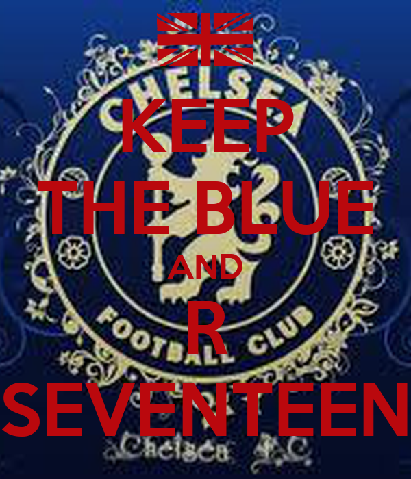 KEEP THE BLUE AND R SEVENTEEN