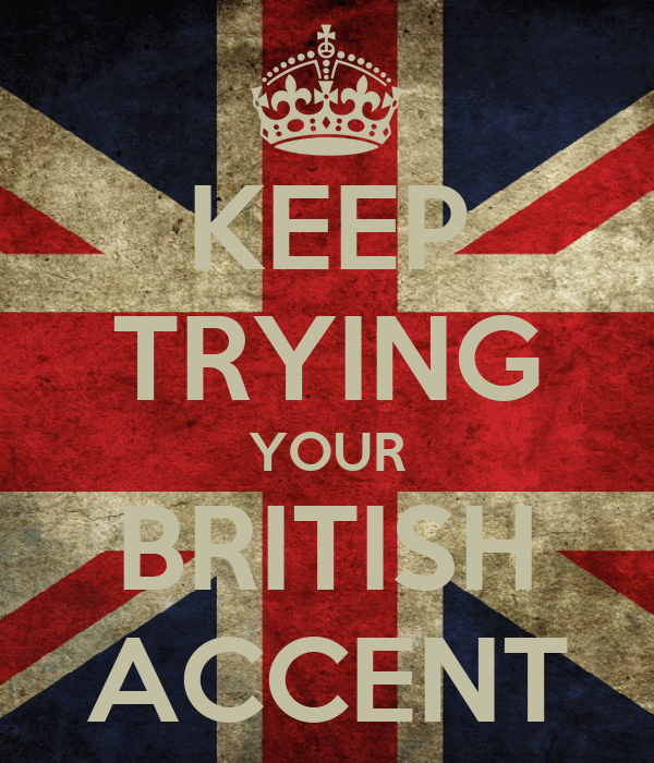 how to keep your accent
