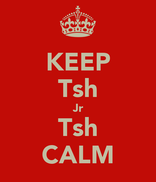 KEEP Tsh Jr Tsh CALM