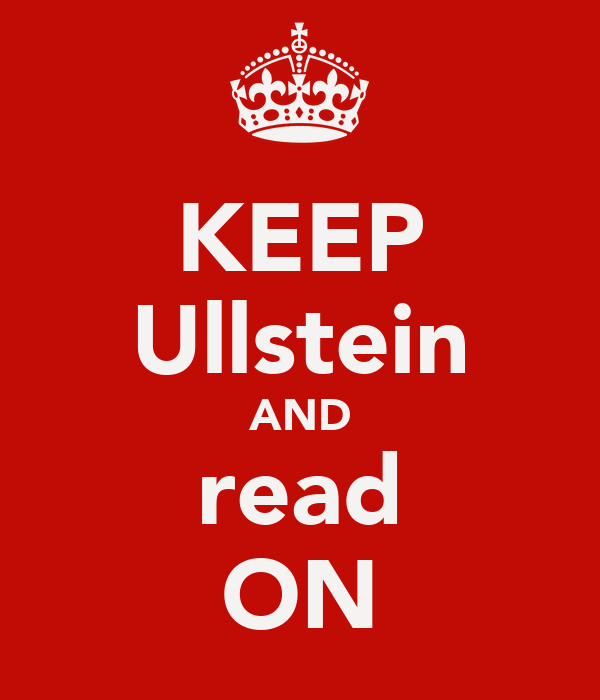 KEEP Ullstein AND read ON
