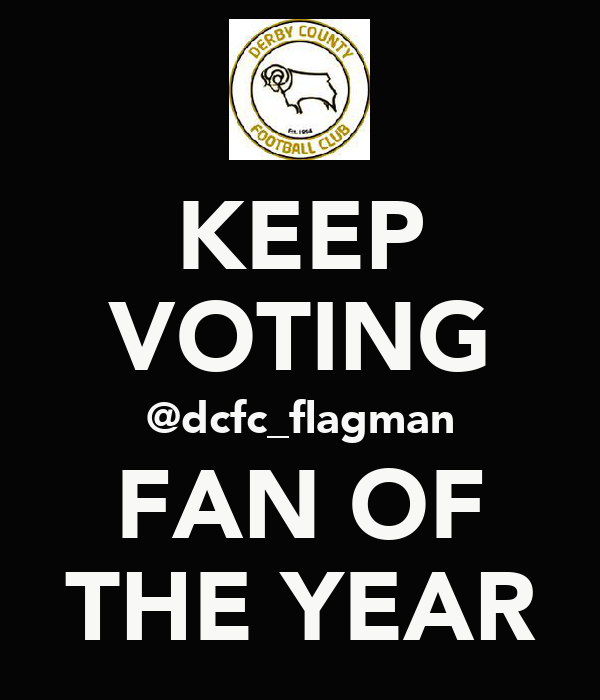 KEEP VOTING @dcfc_flagman FAN OF THE YEAR
