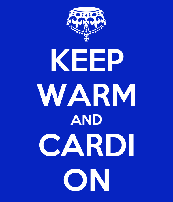 KEEP WARM AND CARDI ON