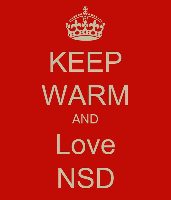 KEEP WARM AND Love NSD