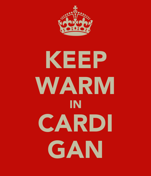 KEEP WARM IN CARDI GAN