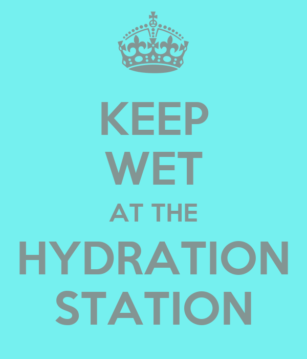 KEEP WET AT THE HYDRATION STATION