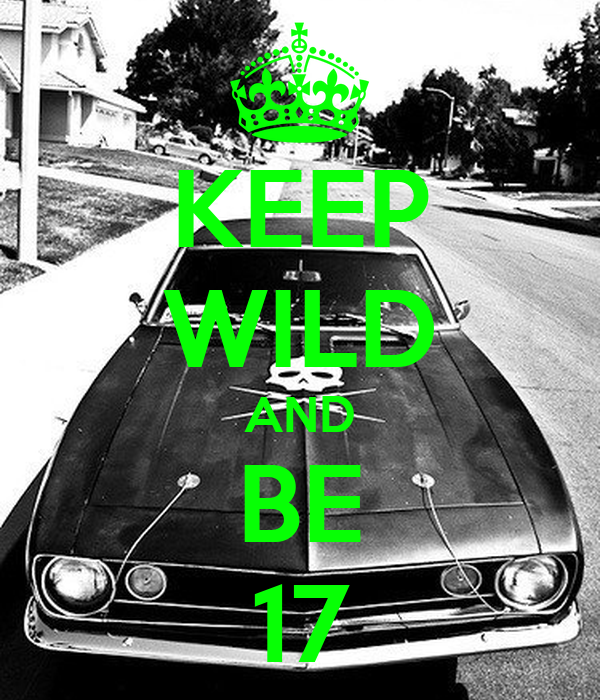 KEEP WILD AND BE 17