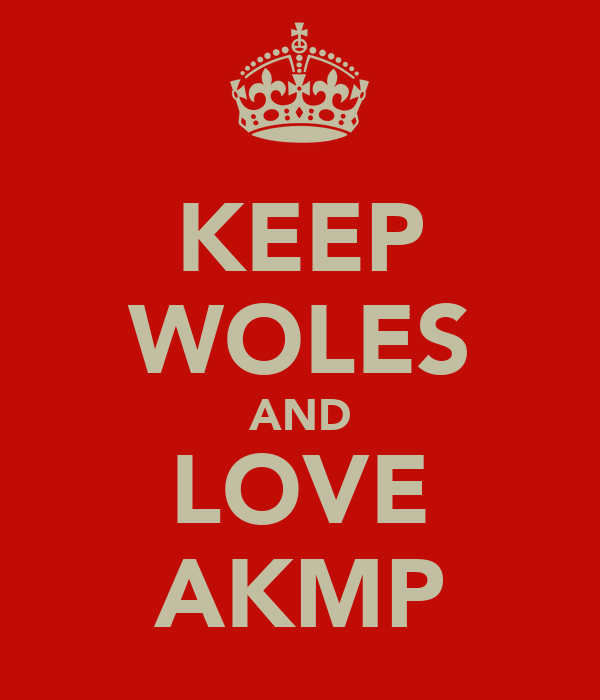 KEEP WOLES AND LOVE AKMP