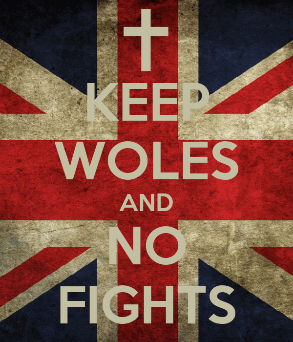 KEEP WOLES AND NO FIGHTS