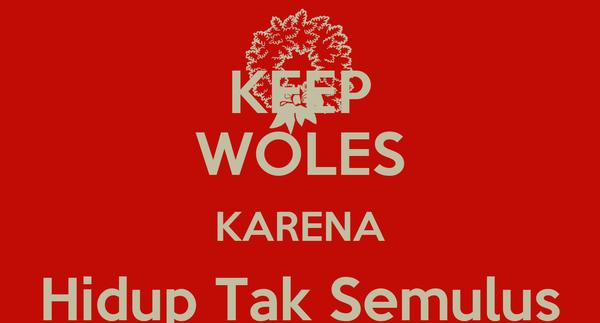 KEEP WOLES KARENA Hidup Tak Semulus Paha SNSD