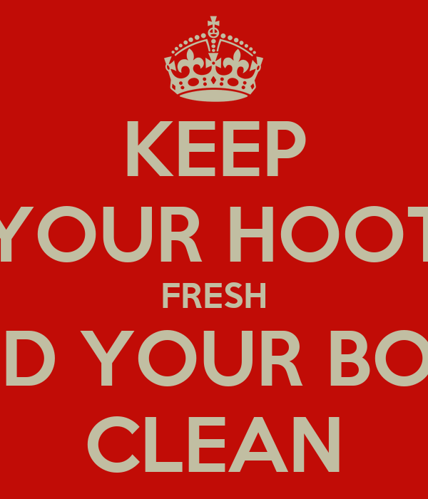 KEEP YOUR HOOT FRESH AND YOUR BOOT CLEAN