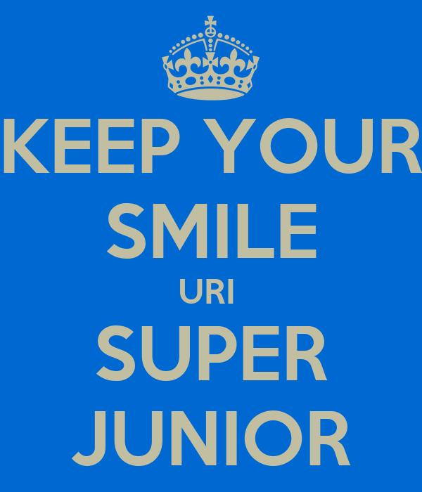 KEEP YOUR SMILE URI  SUPER JUNIOR