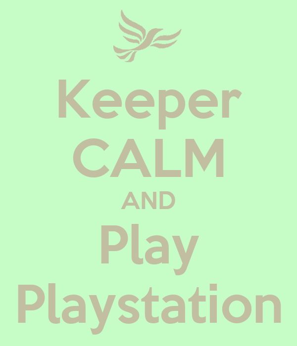 Keeper CALM AND Play Playstation