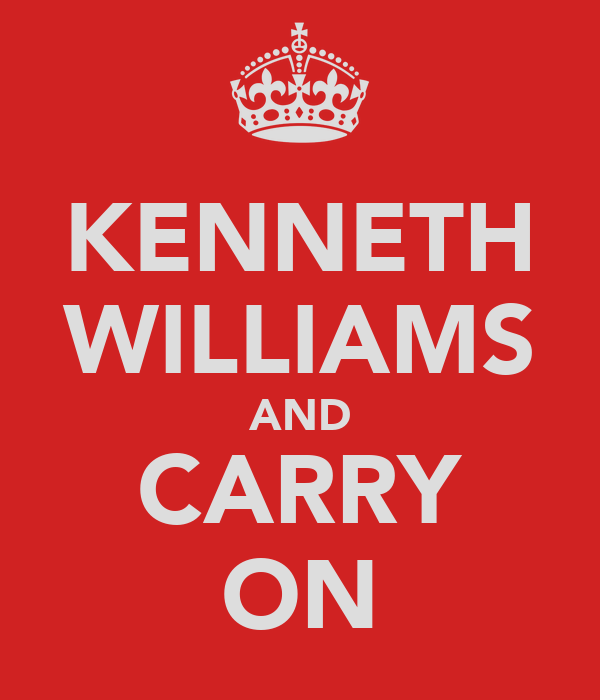 KENNETH WILLIAMS AND CARRY ON