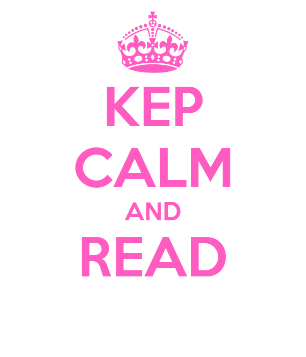 KEP CALM AND READ