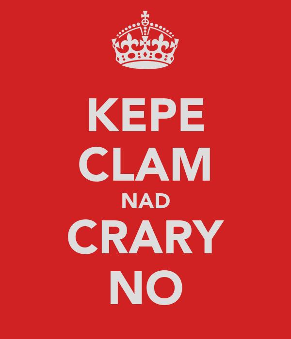 KEPE CLAM NAD CRARY NO
