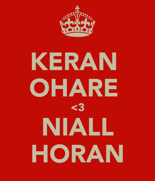 KERAN  OHARE  <3 NIALL HORAN