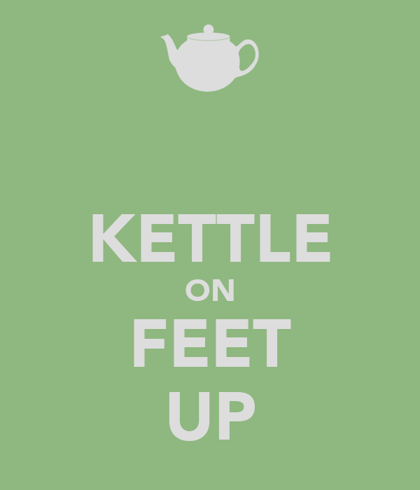 KETTLE ON FEET UP