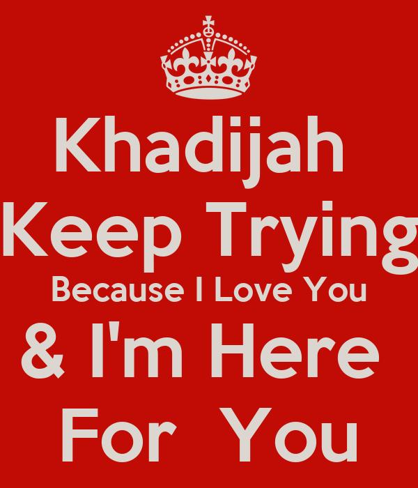 khadijah ahmad