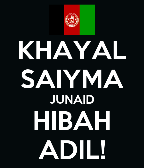 KHAYAL SAIYMA JUNAID HIBAH ADIL!