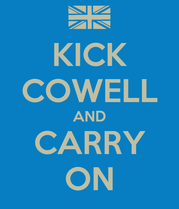 KICK COWELL AND CARRY ON