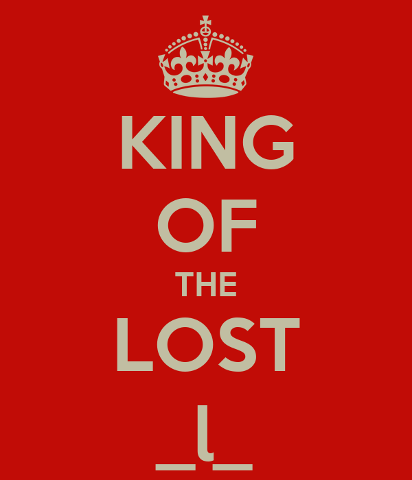 KING OF THE LOST _l_