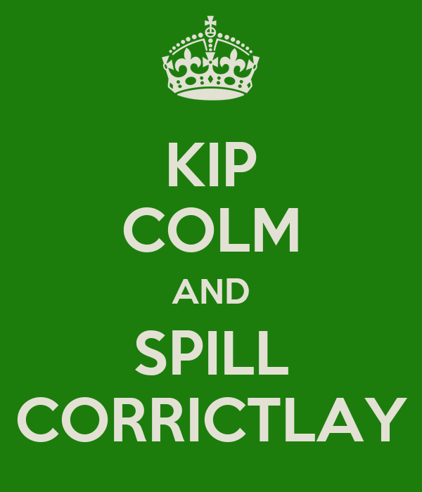 KIP COLM AND SPILL CORRICTLAY