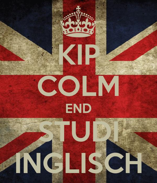 KIP COLM END STUDI INGLISCH