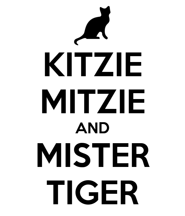 KITZIE MITZIE AND MISTER TIGER