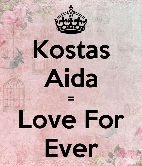 Kostas Aida = Love For Ever