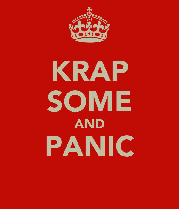 KRAP SOME AND PANIC