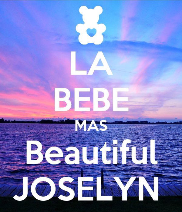 LA BEBE MAS Beautiful JOSELYN